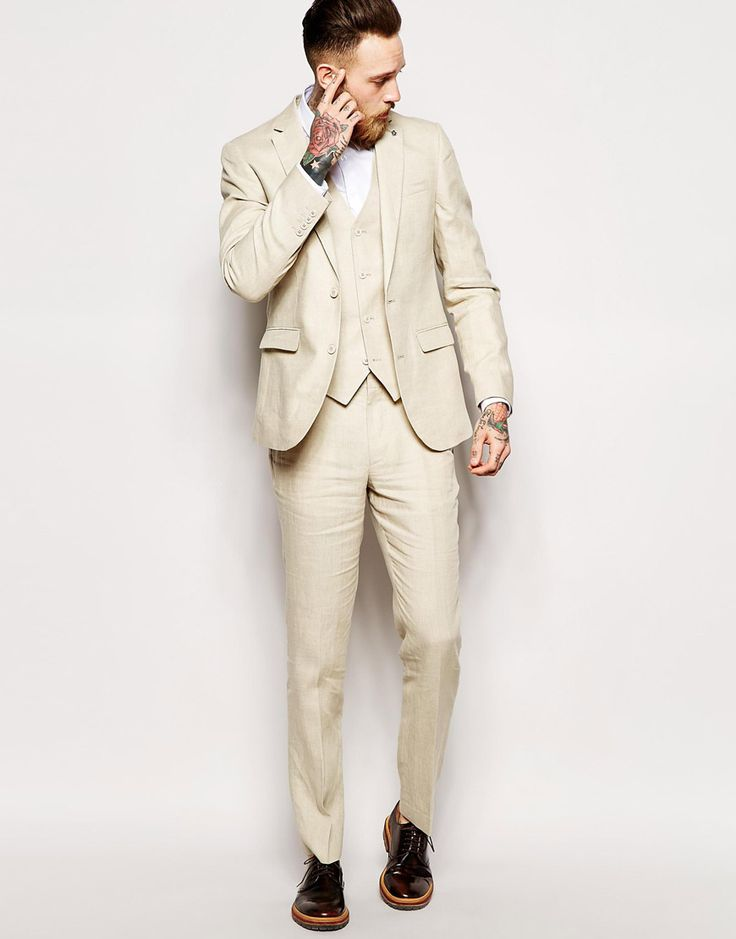 Image 1 - ASOS - Costume cintré 100% lin