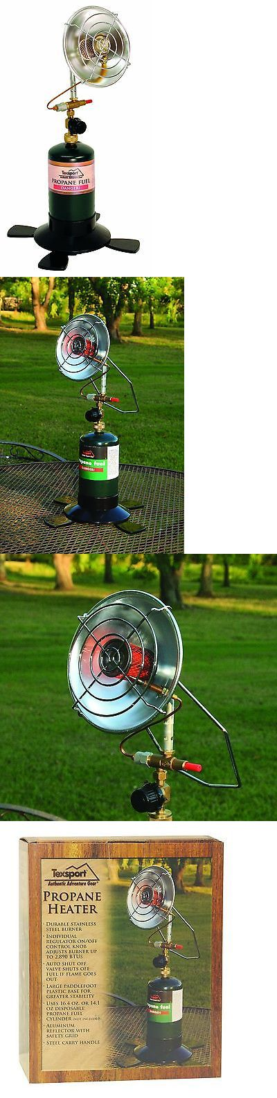 Generators and Heaters 16039: Texsport Portable Outdoor Propane Heater New BUY IT NOW ONLY: $41.47