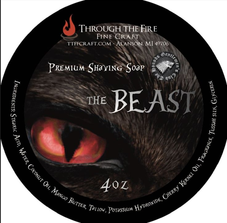 The Beast Aftershave Splash and Shaving Soap Set – The Shaving Shop Club