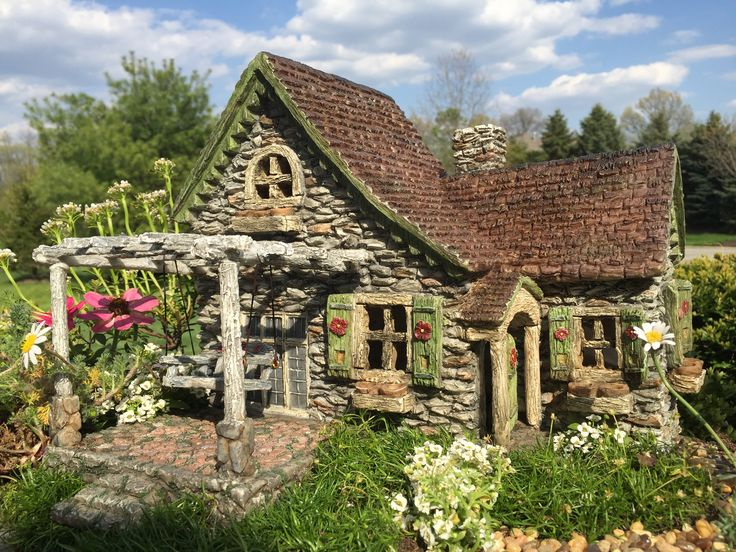 Carly's Cottage is a show stopper! A must have for the miniature garden enthusiast!