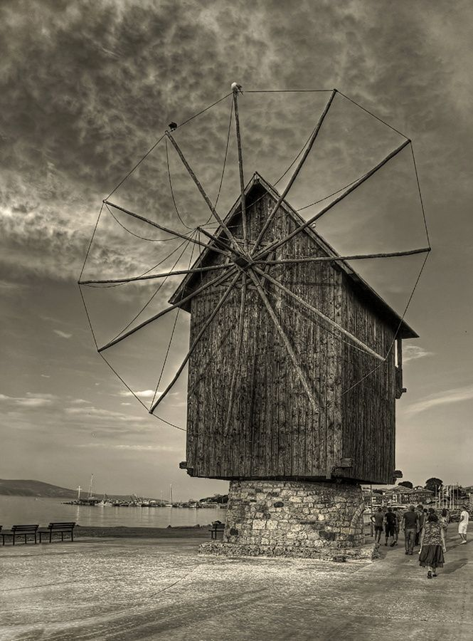 Nessebar, Bulgaria The old windmill Boris Novikov