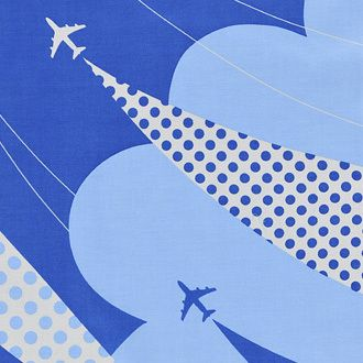 RAAKの飛行機柄 てぬぐい の画像|Teddy's Room