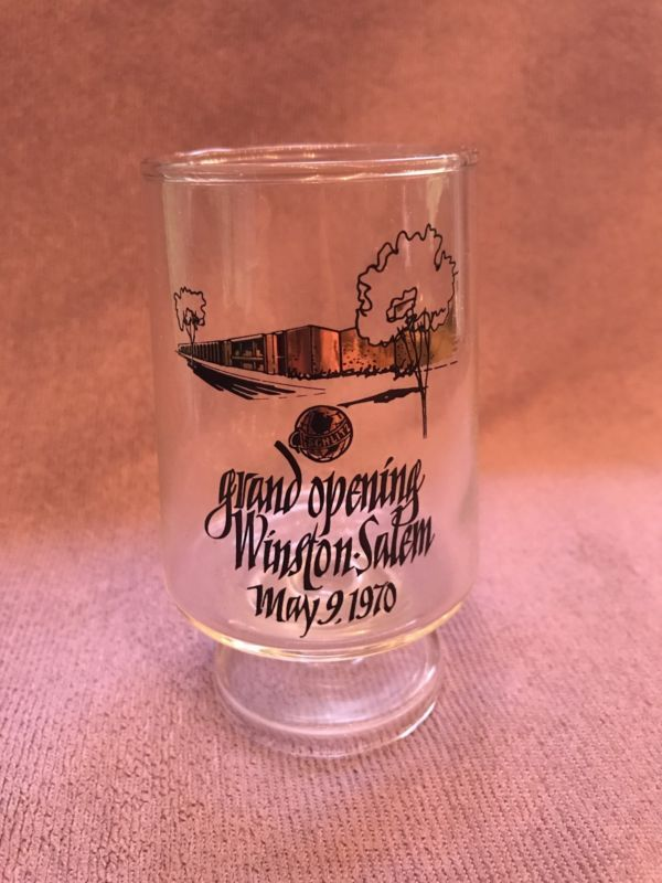 Schlitz Beer Grand Opening May 9, 1970 glass
