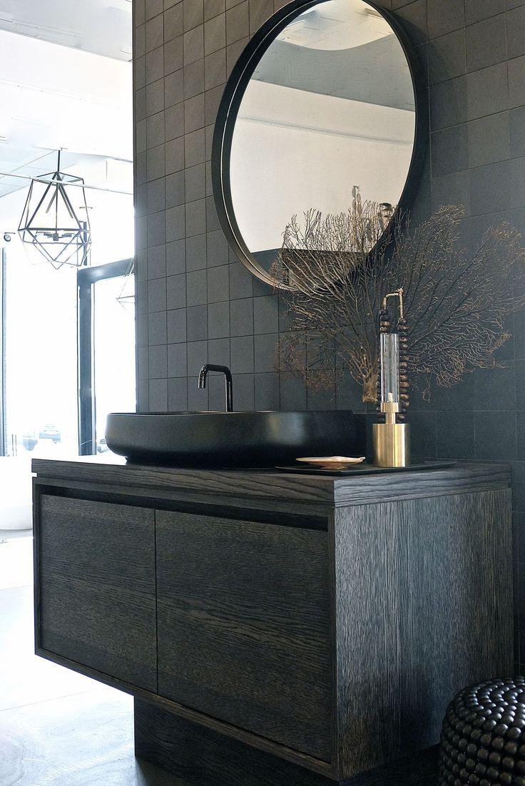 top 25+ best dark bathrooms ideas on pinterest | slate bathroom