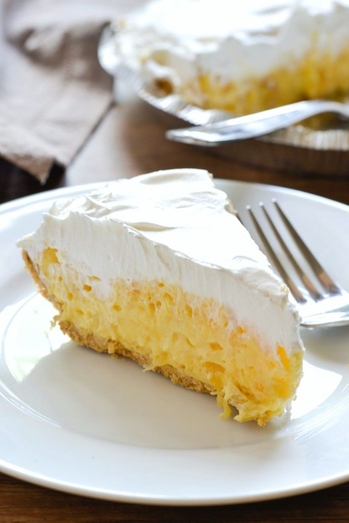 5 Minute Dessert: Pineapple Pie