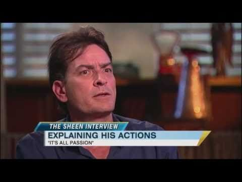 Good Morning America: Charlie Sheen interview.  My opinion- classic bipolar manic behavior.              Exclusive: Charlie Sheen Says He's 'Not Bipolar but 'Bi-Winning'