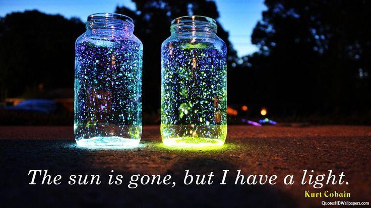 Light Quotes | Wallpaper Kurt Cobain Light Quotes