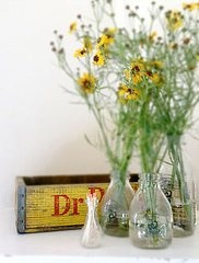 Reuse upcycle empty perfume bottles
