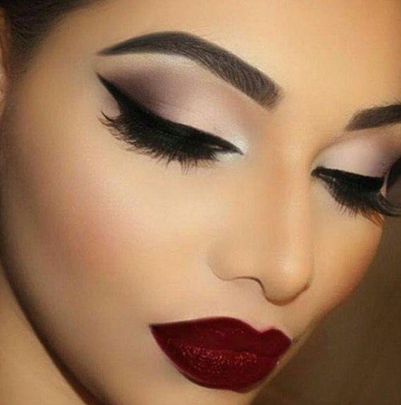 Elegant makeup look