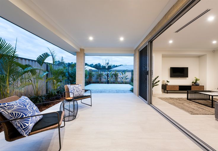 Home Builders Australia | Outdoor Alfresco | Display Home | New Homes | Interior Design | New Home Styling | Inspiration | Garden | Plants