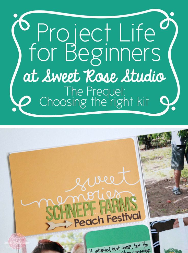 Project Life for Beginners: Week 10 {How to Choose the Perfect Core Edition for YOU!} #ProjectLife