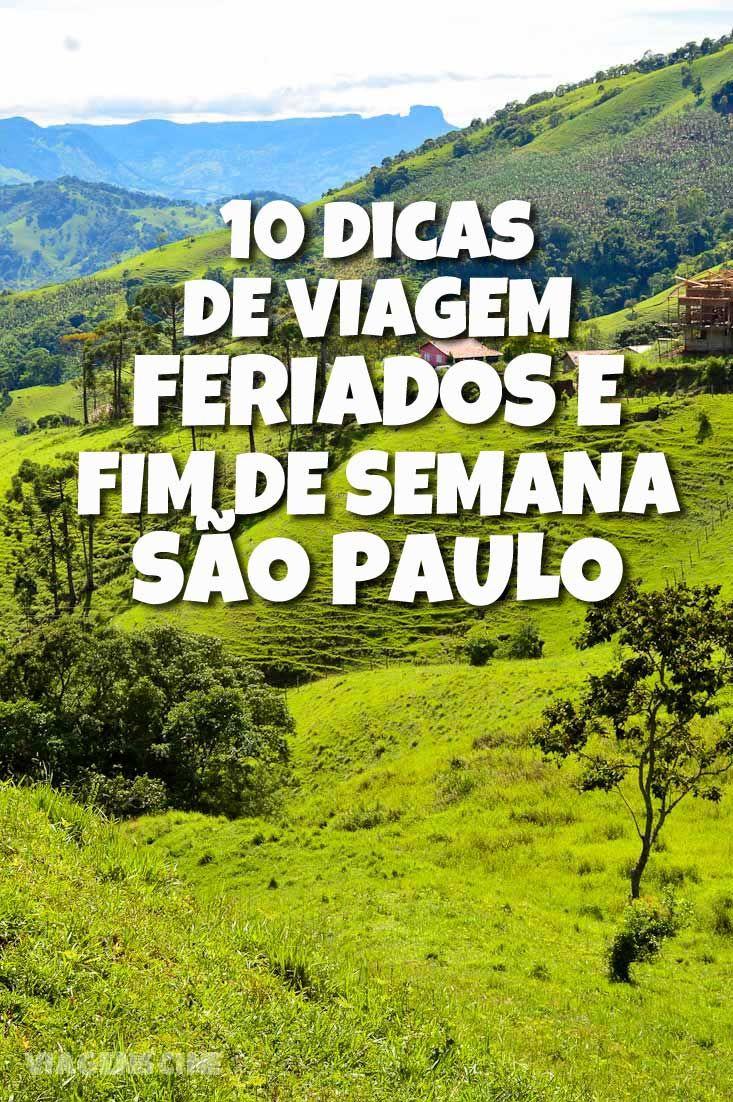 10 Dicas de Viagem Feriados e Fim de Semana SP: praia, montanha, cidades históricas, confira esses destinos para escapar de São Paulo