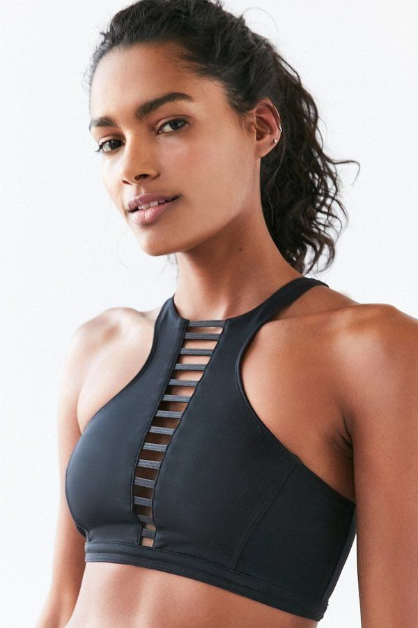 Without Walls Splice Neck Bra Top