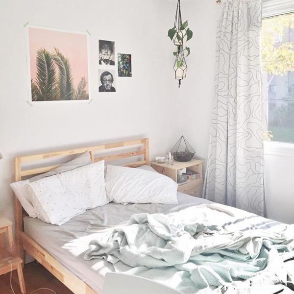 17 migliori immagini su piccoli spazi la camera da letto for Chambre urban outfitters