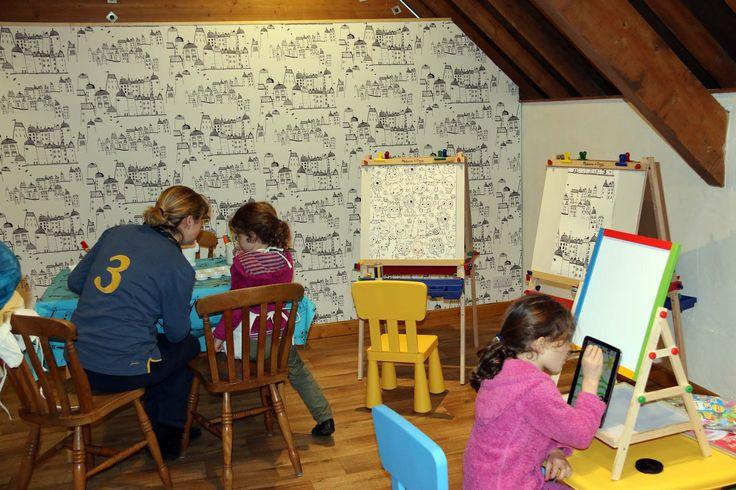 Love the Art Loft at Higher Bowden Farm Cottages in Devon