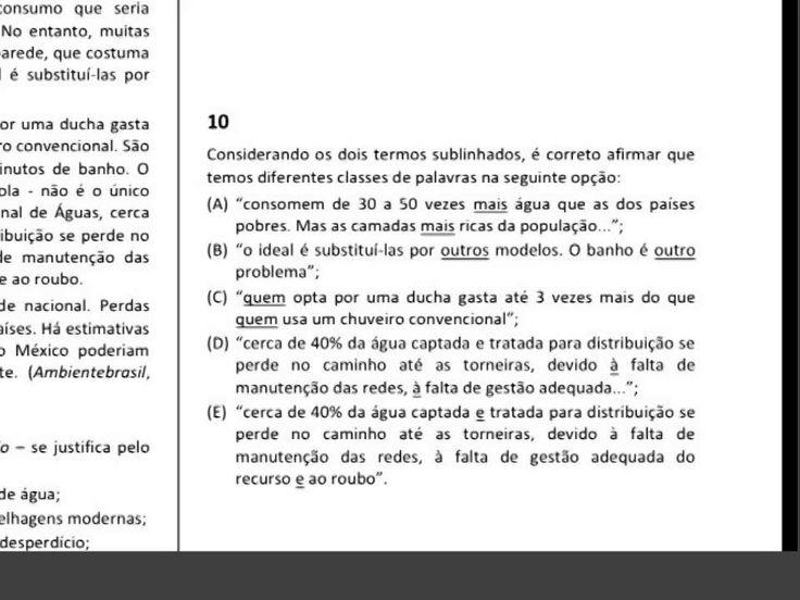 Prova de Português TJRJ comentada parte 2
