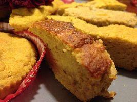 Een recept voor heerlijke kruidige voedselzandloper pompoencake.