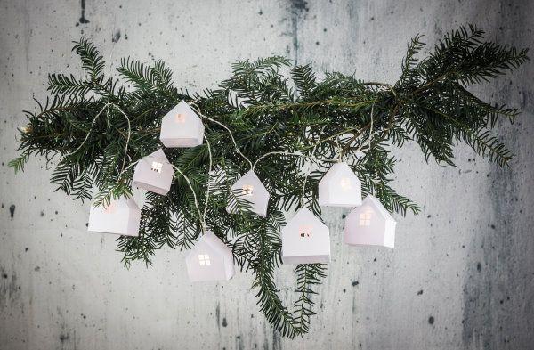 Cozy home: Lichterkette mit DIY Papierhäusern {mit kostenloser Vorlage} by http://titatoni.blogspot.de/