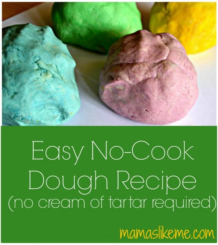 Easy No-Cook #Dough Recipe