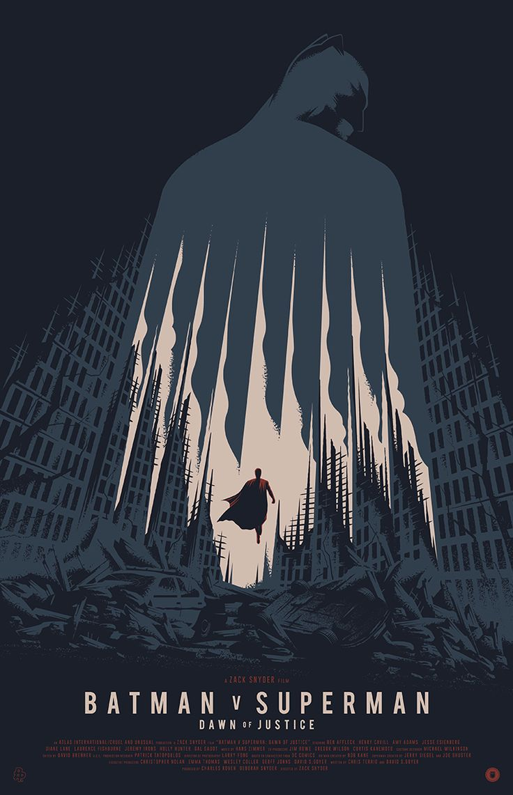 """This is phase 1 of the Poster Posse's tribute to Warner Bros. / Zach Snyder's """"Batman V Superman: Dawn Of Justice"""""""