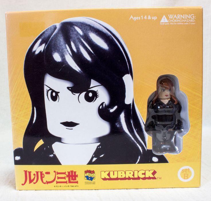 Lupin the 3rd Third Fujiko Mine & Motorcycle Kubrick Medicom Toy JAPAN ANIME