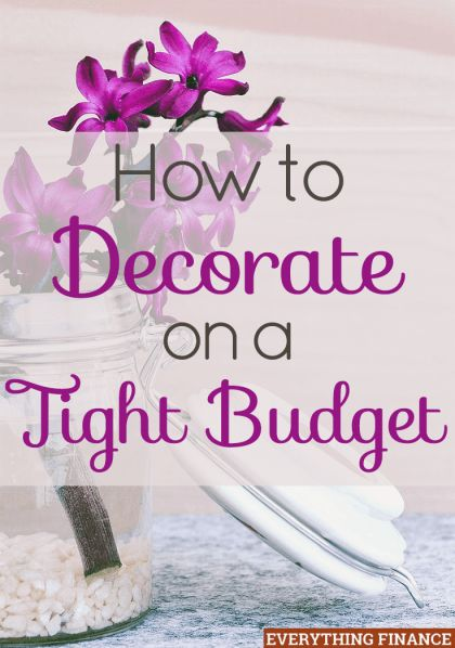 how to decorate on a tight budget money home and the o 39 jays