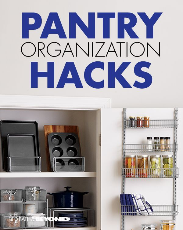 Pantry organization hacks store small items in an over for Kitchen organization hacks