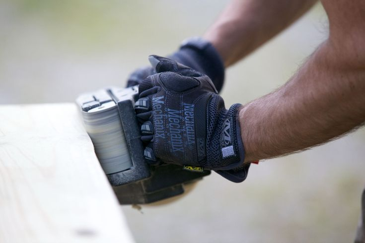 New season. New projects. Protect your hand with the Impact Pro work glove and tackle your endless  to-do list | #diy #work #saw #sand #restore #refinish #build #mechanix #gloves