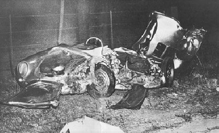 James Dean Cause of Death | James Dean's car . . . of DEATH!!!