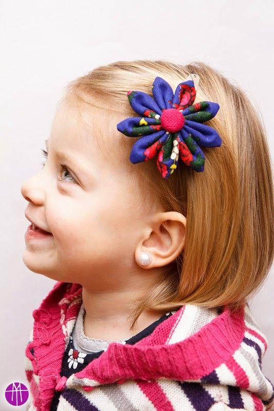 MAMTWORY: Kwiecista spinka do włosów