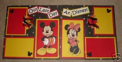 Disney Scrapbook Pages Ideas | Disney Scrapbook Idea Swap. | WDWMAGIC - Unofficial Walt Disney World ...