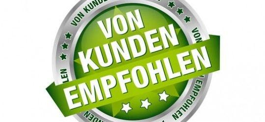 Marusha Hanisch, Fauss Werbetechnik GmbH - http://iroi.de/marusha-hanisch-fauss-werbetechnik/ - http://iroi.de/wp-content/uploads/2012/10/vonkundenempfohlen.jpg