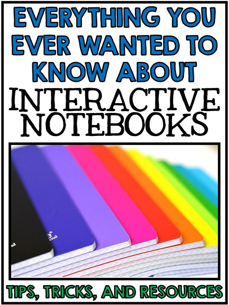 Everything you ever wanted to know about Interactive Notebooks - Tips, Tricks, and Resources!