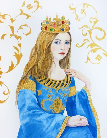 Слишком молод, чтобы быть Королевой - Средневековая Принцесса - Корона