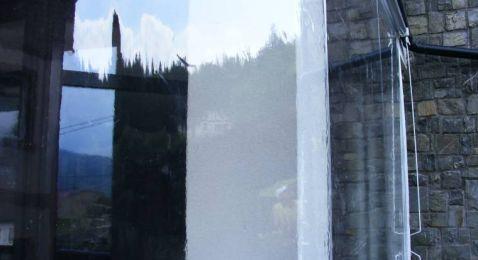 Copertine Parasolar Retractabile Vertical Transparente - Rulouri