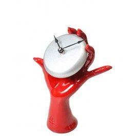 Vrei sa tii timpul in mana? Iata cum: Ceas de birou mana Five o'clock - Antartidee