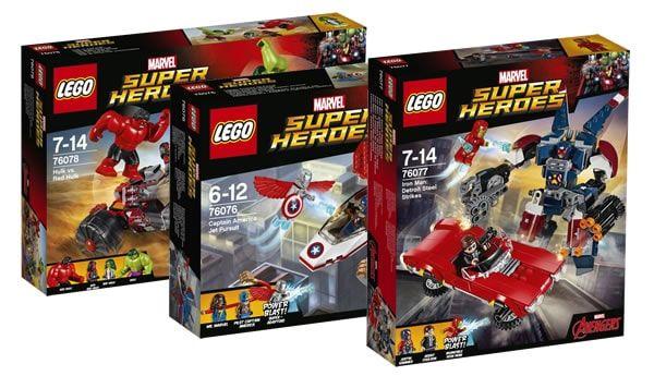 Nouveautés LEGO Marvel 2017 : quelques visuels officiels: Les visuels officiels de trois sets LEGO Marvel Super Heroes prévus pour… #LEGO