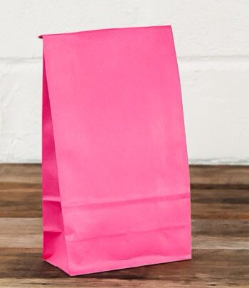 Pink lolly bag www.qualitytimepartysupplies.com.au
