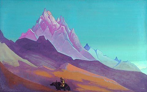 Pilgrim - Nicholas Roerich