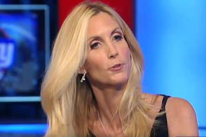 "Ann Coulter: ""21st-century white American men"" are ""the most pacific human beings in world history"""