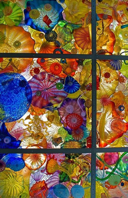 Chihuly bridge of glass in tacoma the dale