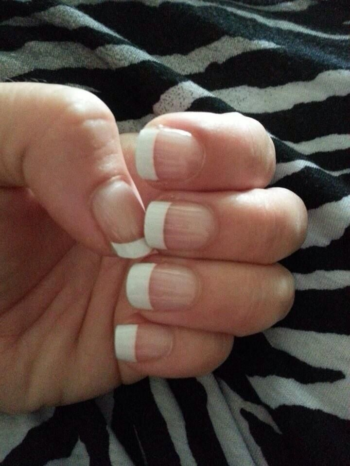 Outstanding French Wrap Nails Gallery - Nail Paint Design Ideas ...