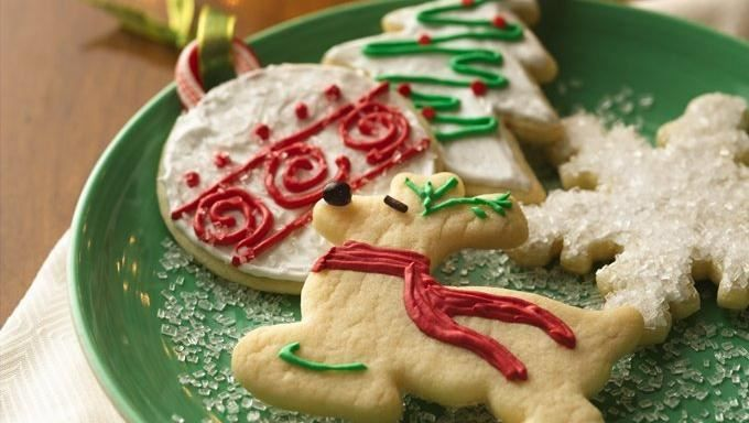Baking holiday cookies is fuss free when you get a little help from a Betty Crocker® cookie mix.