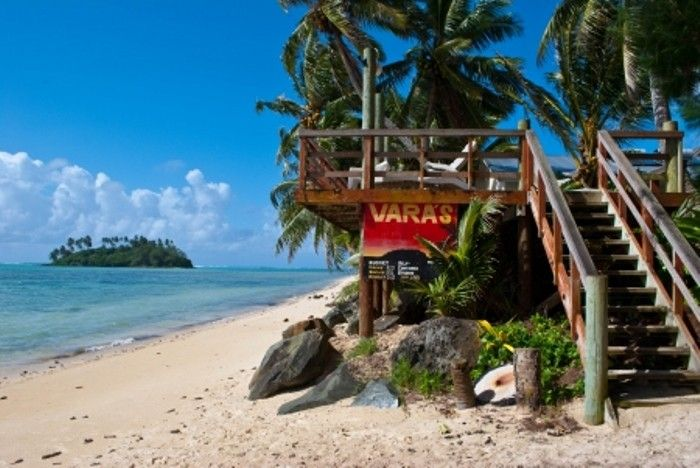 Enjoying the Pacific Paradise