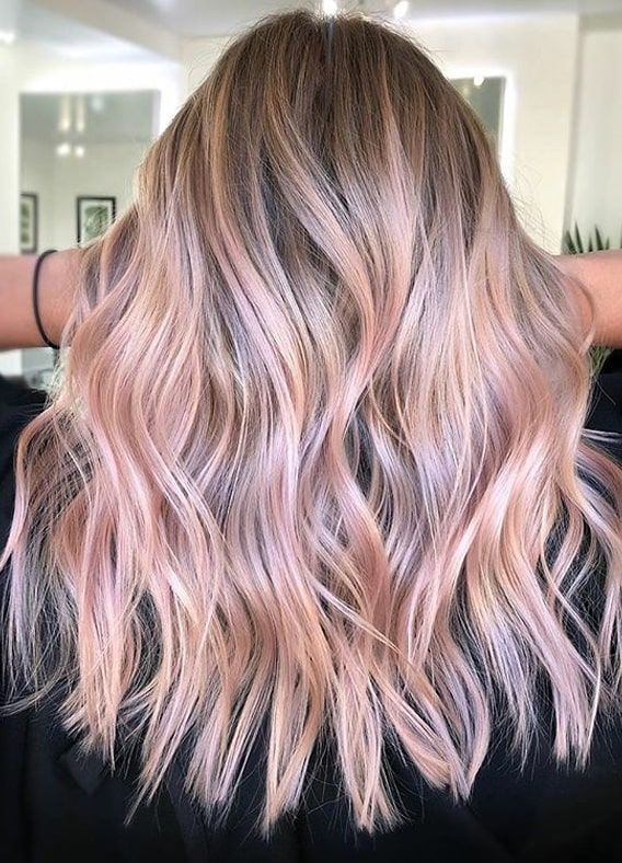 Cutest Pink Balayage Hair Color Trends To Show Off In 2020 Stylesmod In 2020 Light Pink Hair Pink Blonde Hair Hair Color Balayage