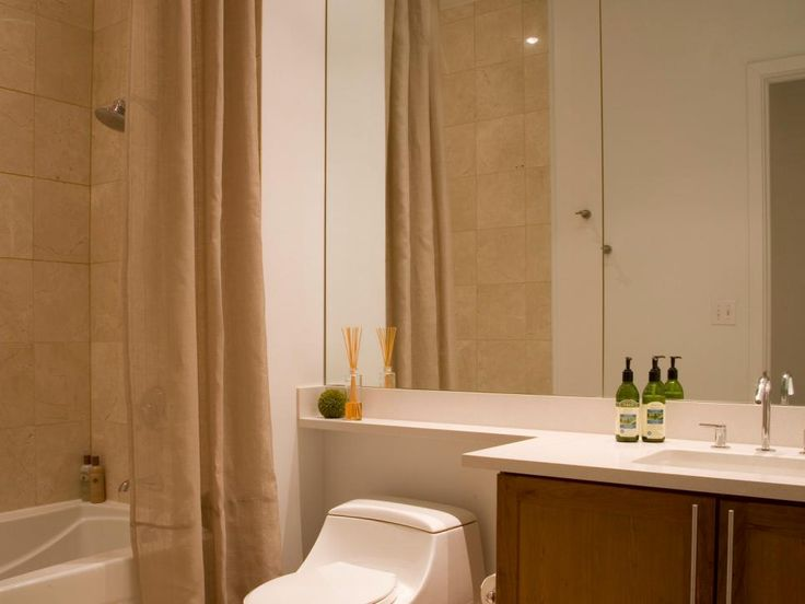 Soft Neutral Shower Curtains