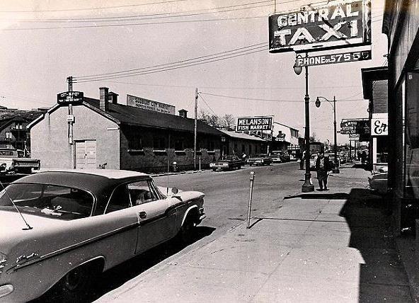 1960 Farmer's Market, Borgia St, Sudbury ON
