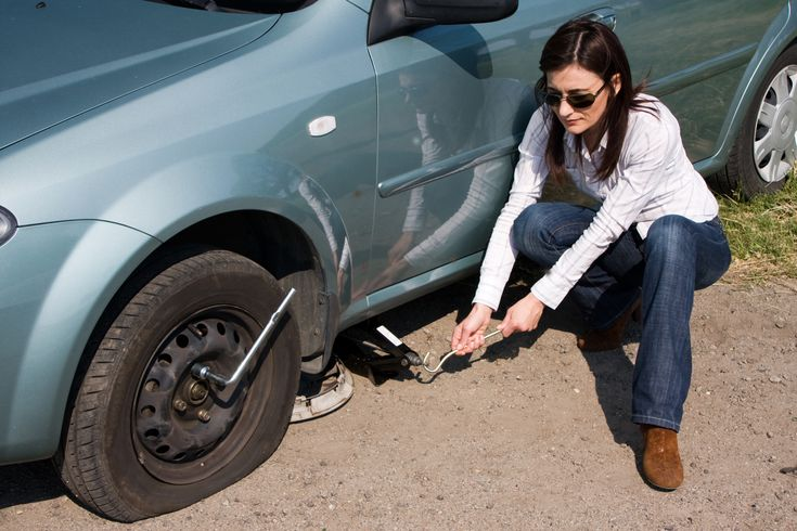 Try and stop in a safe, flat spot before changing a flat tyre. #DunlopTyresSA #HowToChangeAFlatTyre