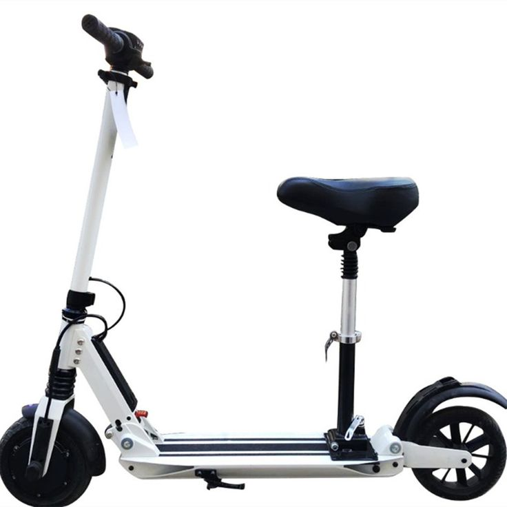Best 25 electric scooter with seat ideas on pinterest for Motorized scooters for adults