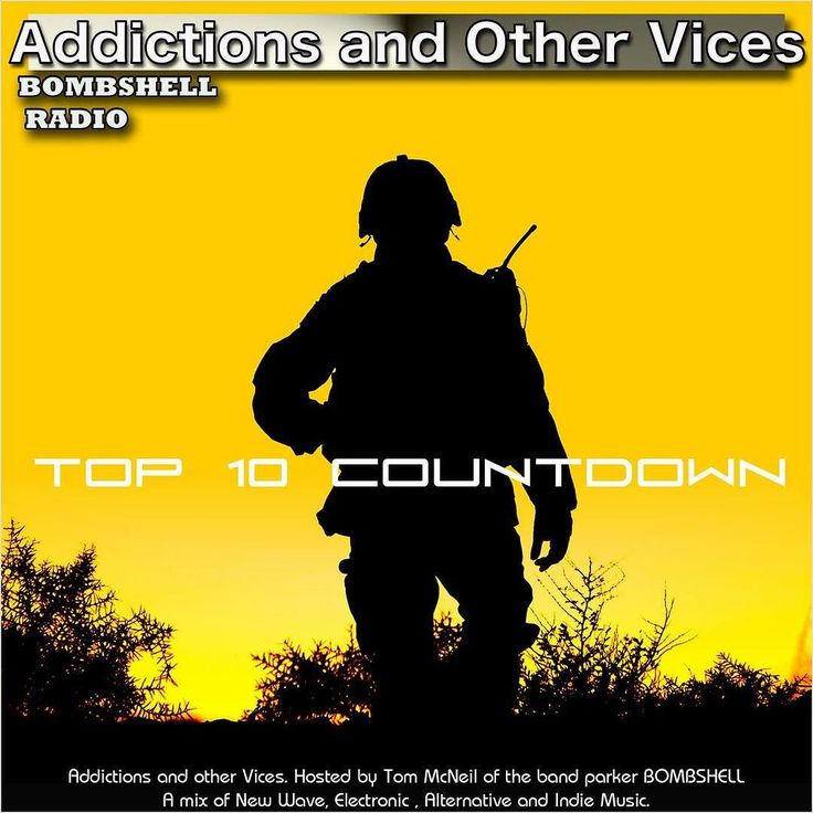 #today 3pm-5pm EST and 8pm-10pm EST bombshellradio.com  Addictions and Other Vices 418 - Top 10 Countdown July  its showtime! Tonight its our Bombshell Radio Top 10 Countdown for July. This time I had the assistance of 5 Presenters who also air their show on Bombshell Radio. Alex Green (The Heart Goes Boom) Brandon Charles (Alternate Universe)  brilliantfish (The Upstream) Jazzamatazz - Retro Dj mixes of many groovy styles of music (Jazzamatazz) and Skip The DJ (Radio Hootenanny & Ska Party…